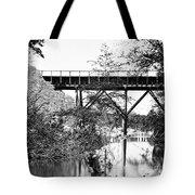 Civil War: Foot Bridge Tote Bag