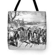 Civil War: Freedmen, 1863 Tote Bag by Granger