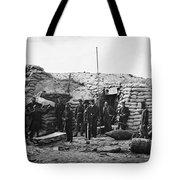 Civil War: Headquarters Tote Bag