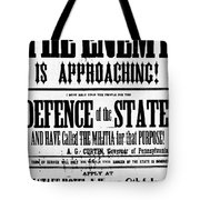 Civil War: Lees Campaign Tote Bag