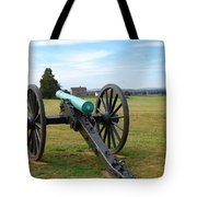 Civil War Lone Canon  Tote Bag