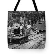 Civil War: Mortar Tote Bag