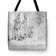 Civil War: Punishment Tote Bag
