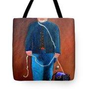Civil War Reenactor Tote Bag