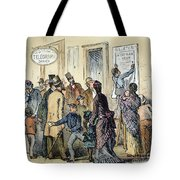 Civil War Telegraph Office Tote Bag
