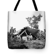 Civil War: Telegraphers, 1864 Tote Bag