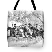 Civil War: Texas Rangers Tote Bag