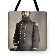Civil War Union Commander Tote Bag