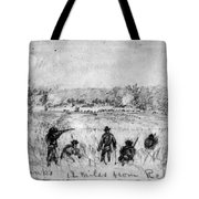 Civil War: Union Troops Tote Bag
