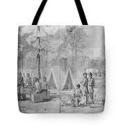 Civil War: Voting, 1864 Tote Bag