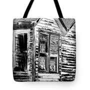 Clapboards And Lace Tote Bag