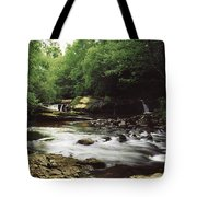 Clare River, Clare Glens, Co Tipperary Tote Bag