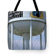 Clarksdale Water Tower Tote Bag