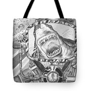 Clash With Reality Tote Bag