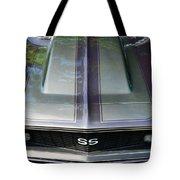 Classic Camaro Ss Hood Cowl Tote Bag