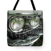 Classic Car - White Grill 1 Tote Bag