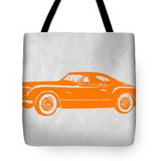 Classic Car 2 Tote Bag by Naxart Studio