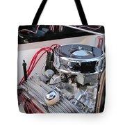 Classic Car Engine Tote Bag