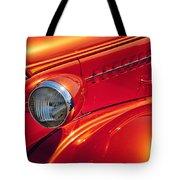 Classic Car Lines Tote Bag