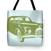 Classic Car Tote Bag by Naxart Studio