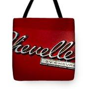 Classic Chevelle Tote Bag