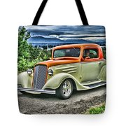 Classic Ford Hdr Tote Bag