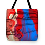 Classic Mercury Abstract Tote Bag