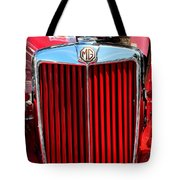 Classic Red Mg Tote Bag