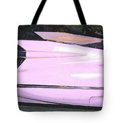 Classic Tails - Pink 1959 Cadillac Tote Bag