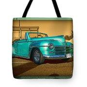 Classic Teal Convertible Tote Bag