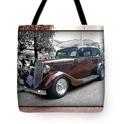 Classy Brown Ford Tote Bag
