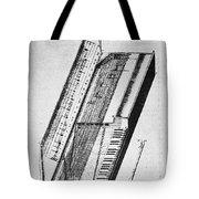 Clavichord, 1636 Tote Bag