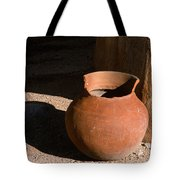 Clay Pot And Shadow Tote Bag