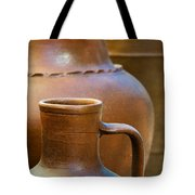 Clay Pottery Tote Bag