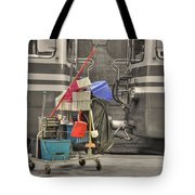 Cleaning Equipment Tote Bag
