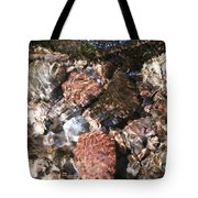 Clear And Pure Tote Bag