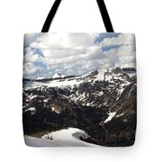 Clear Day On Rendezvous Mountain Tote Bag