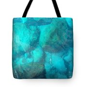 Clear Water 3 Ionian Sea Series Tote Bag