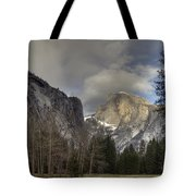 Clearing At Half Dome Tote Bag