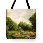 Clearing In The Woods Tote Bag