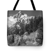 Clearing Storm On Grand Teton  Tote Bag