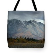 Clearing Storm Over North Canol Road Tote Bag