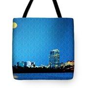 Clearwater At Night Tote Bag