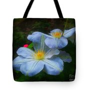 Clematis Altered Tote Bag