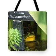 Clever Froggy's Hideout Tote Bag