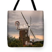 Cley Windmill Tote Bag by Chris Thaxter