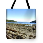 Cliff And Beach Tote Bag