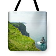 Cliff Of Moher 24 Tote Bag