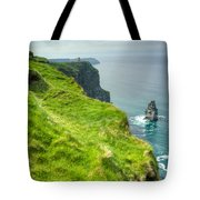 Cliff Of Moher 25 Tote Bag