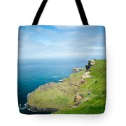 Cliff Of Moher 26 Tote Bag